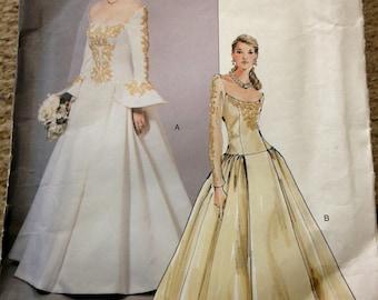 Halloween Long Sleeve Wedding Dresses