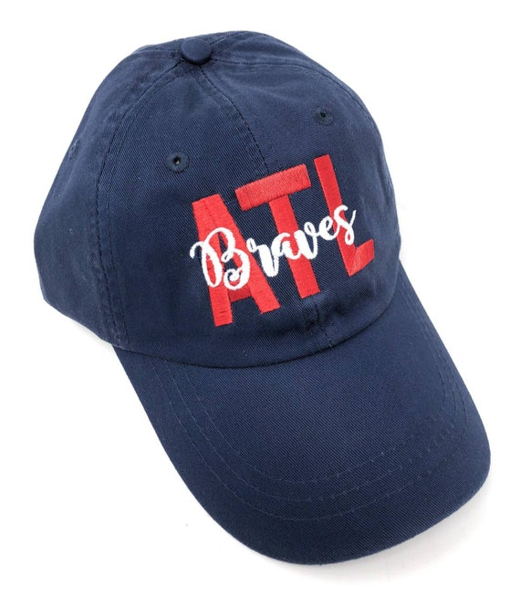 spain atlanta braves custom fitted hats real name d2bff d4e8d