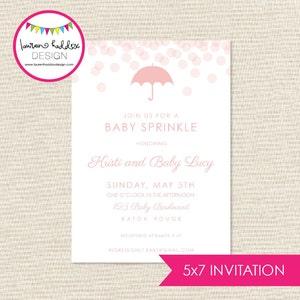 Baby Sprinkle PARTY PRINTABLES Lauren Haddox Design Baby Shower Decor Baby Girl Shower Decor Sprinkle Theme Baby Shower