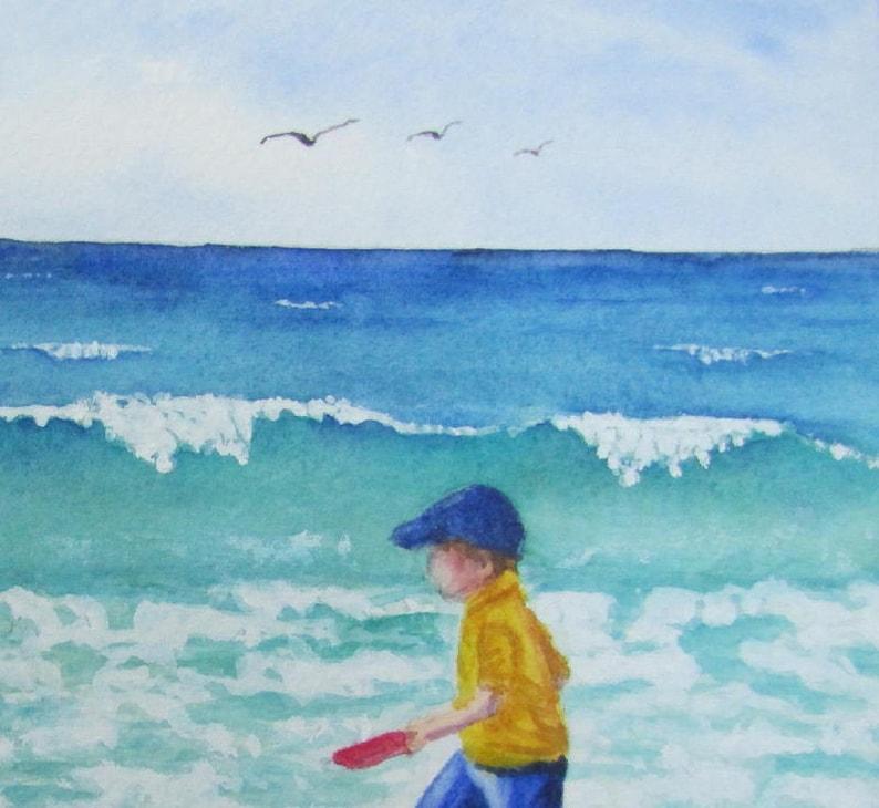 Anna Maria Island Beach: Beach Painting Coastal Decor Anna Maria Island Beach Decor