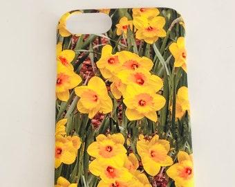 I-Phone 7/8/Ultra Slim Case, Daffodils