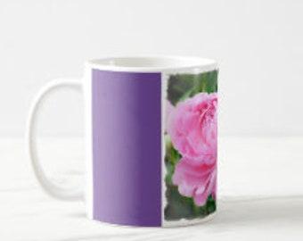 Ceramic Coffee Mug for her, Pink Phonies,