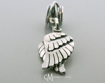 Angel Wing Necklace - Sterling Silver Angel Wing Jewelry - Memorial Necklace - Gaurdian Angel - Memorial Gift