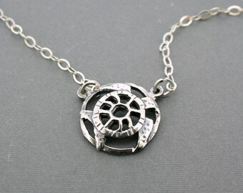 Day 2 - Domed Sea Turtle Necklace