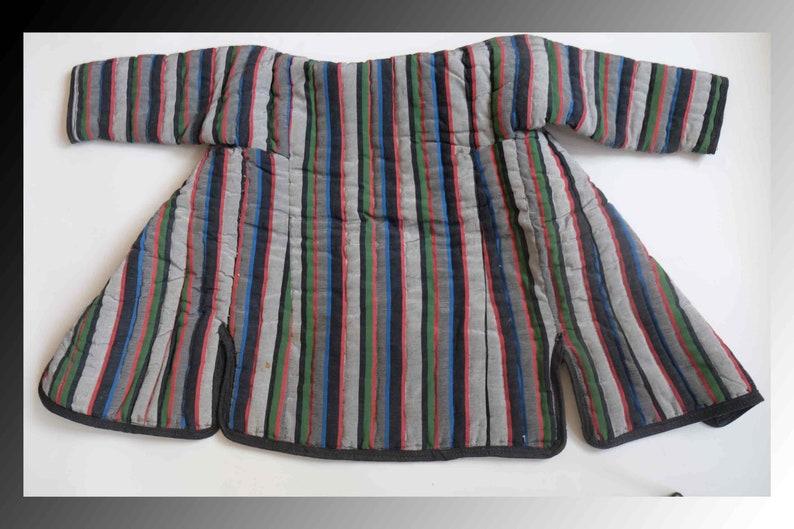 Vintage ikat,Ikat ROBE,Wall decor,Nomad Dress,Silk ikat robe. Uzbek children robe,Traditional uzbek dress.Antique uzbek Robe