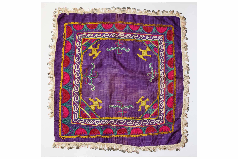 Vintage Scarf Styles -1920s to 1960s Great Uzbek Silk Fabric, Vintage Ikat, Handmade Embroidery, Vintage Mans Belt, Belbog Sashes Ikat Samarkand, Mans Accessory $39.00 AT vintagedancer.com