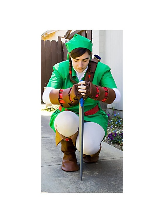 Link Costume Ocarina of Time from the Legend of Zelda custom