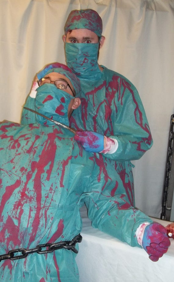 Psycho Surgeon Doctor BLOODY surgical gown Hostel Dead   Etsy