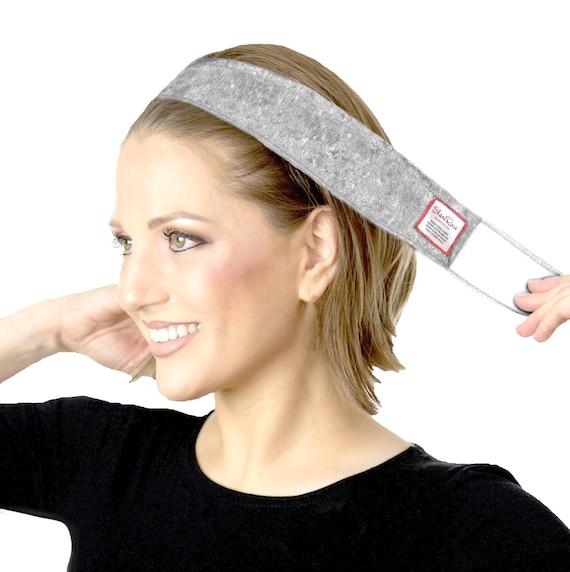 high fashion uitverkoop 100% kwaliteit Gray Non-Slip hoofdband No Slip WiGrip hoofd haarband zilver Velvet  verstelbaar: hoofd sjaals, pruiken op je hoofd hele dag houdt! ShariRose
