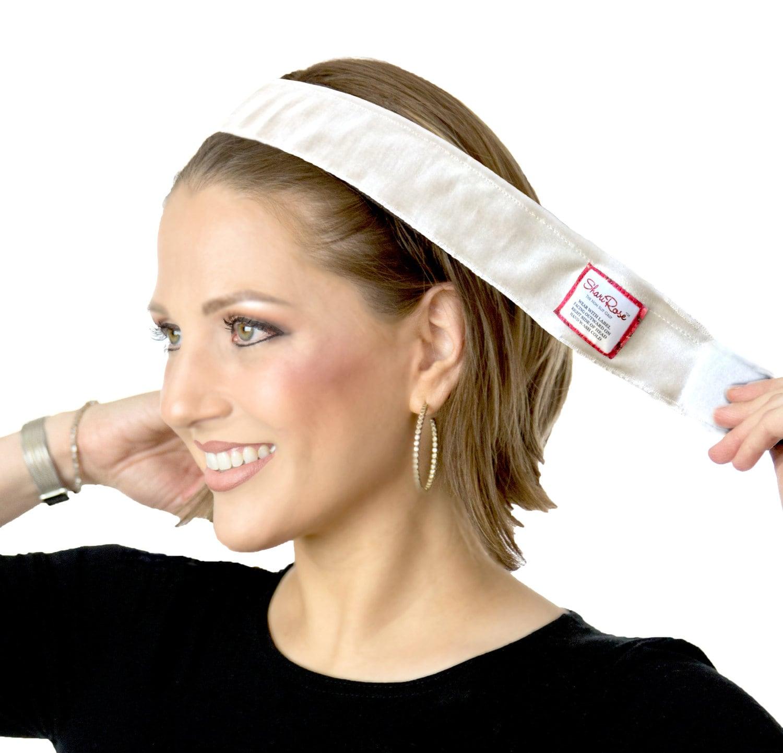 Tan or Lt Brown NEW Womens Velour Wigrip Wig /& Scarf Gripper Wig Headband Black