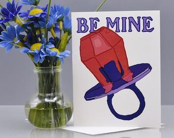 RING POP LOVE - Love Card - Valentine Card - Item# L078