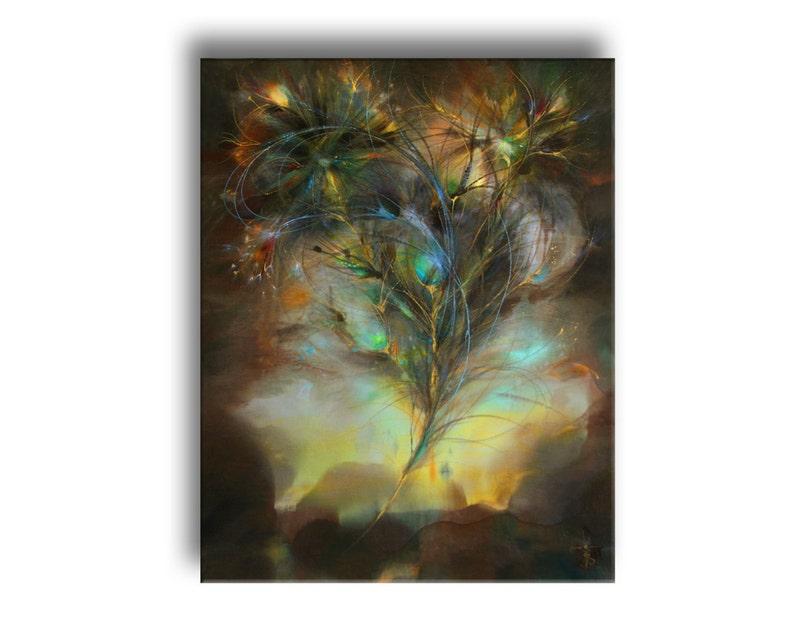 Brand veer van phoenix family fantasy schilderij in rijke etsy