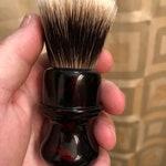 24mm High Mountain White badger brush