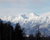 "Fine Art Photography, Mountain Photo Art Print, ""Sleeping Beauty Mountain """