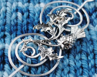 Scottish Shawl Pin inspired by Outlander