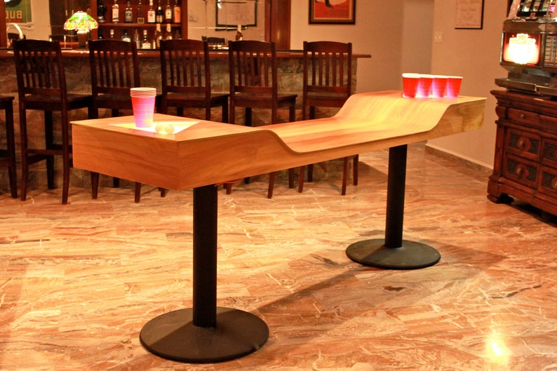 custom c5 beer pong table etsy rh etsy com custom beer pong tables australia custom beer pong tables with lights