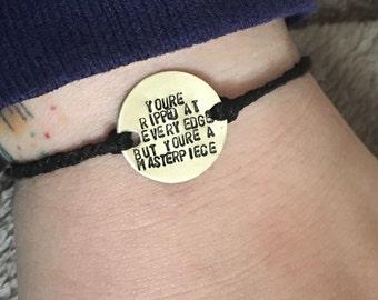 Halsey - Colors lyrics - bracelet
