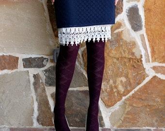 Skirt Extender Slip: Cream Venice Lace