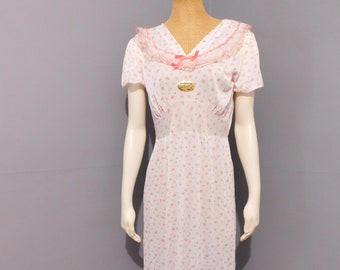 Vintage Deadstock Lingerie Floral Nightgown by Kickaway Size 36 f00b16c4b