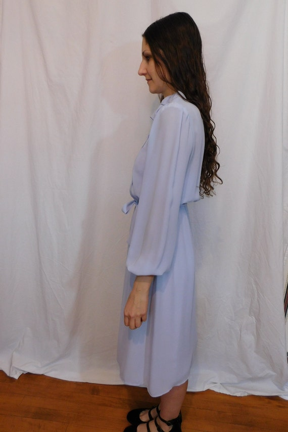 Vintage Ruffle Collar Office Dress, Easter, Sprin… - image 6