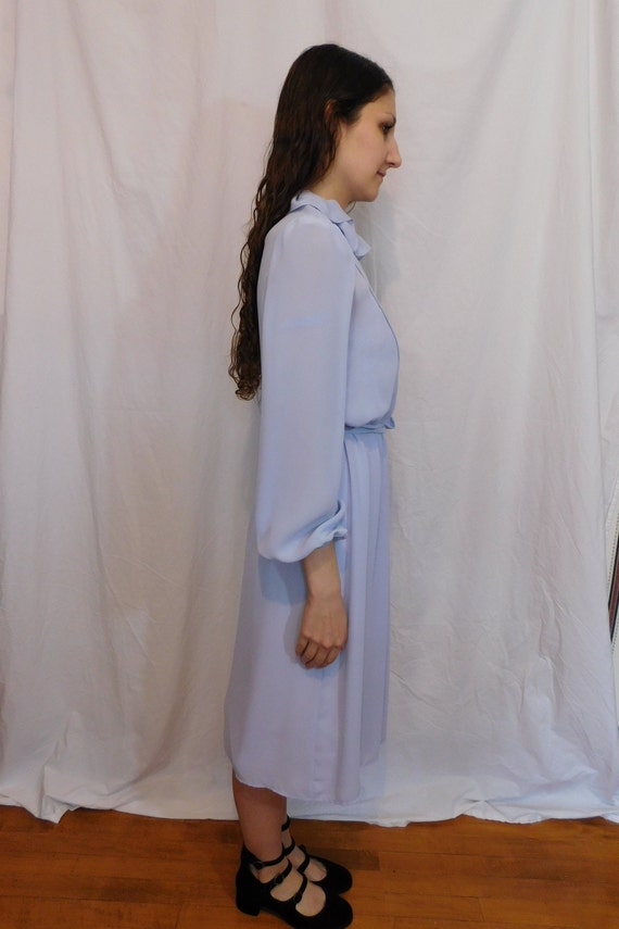 Vintage Ruffle Collar Office Dress, Easter, Sprin… - image 5