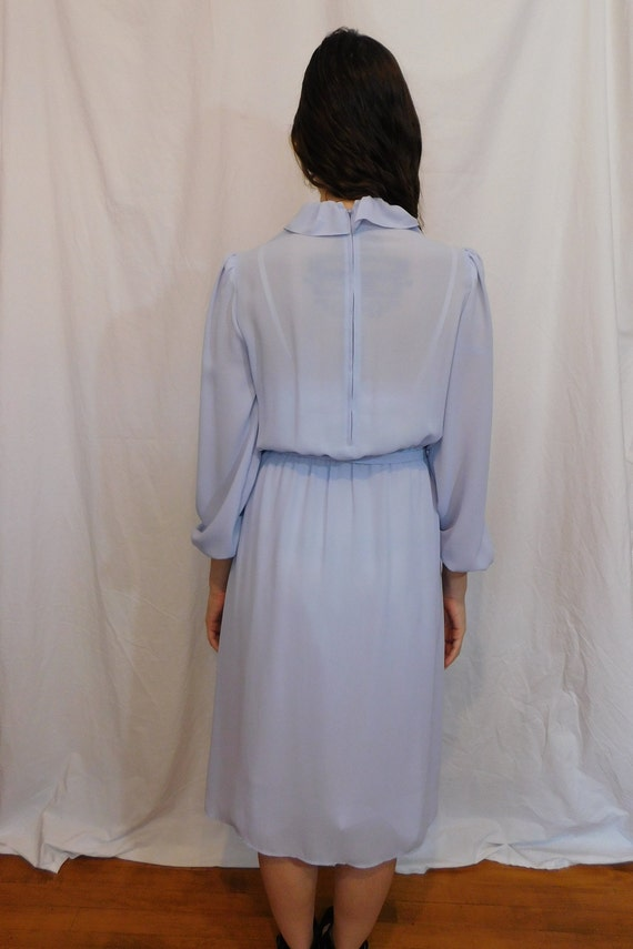 Vintage Ruffle Collar Office Dress, Easter, Sprin… - image 7