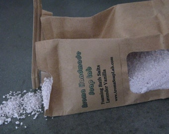 Foaming Bath Salts Unscented you choose fragrance