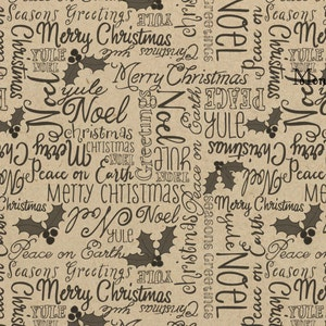 Holly Wrapping Paper Gift Wrap Kraft Wrap Party Supply SPS281 Table Runner Scrapbooking Christmas