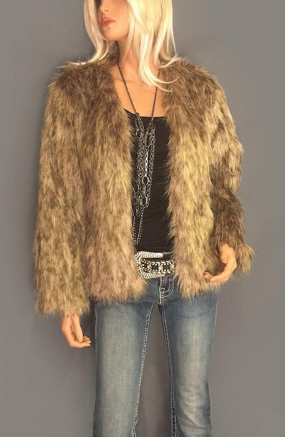 nuovi prezzi più bassi sporco a buon mercato vendita a basso prezzo Cappotto di pelliccia sintetica bolero giacca lunghezza anca | Etsy