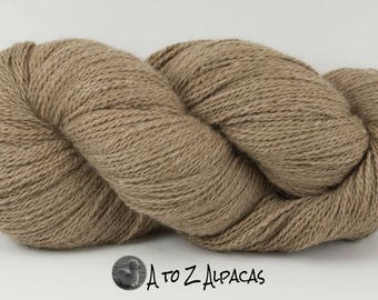 Royal Baby Natural Alpaca Yarn Sock Weight Khaki