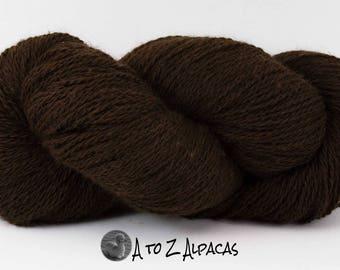 Sport Weight - Brown - Alpaca Yarn - Made in Canada