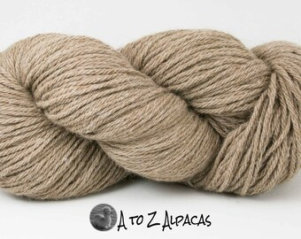 Bulky Weight - Fawn - Alpaca Yarn - Made in Canada