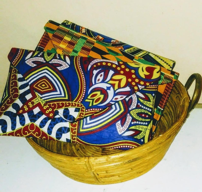 Paisley Envelope Clutch Soft Clutch Ankara Bag African Clutch image 0