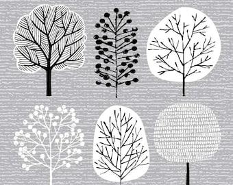 I Love Trees No2, giclee print