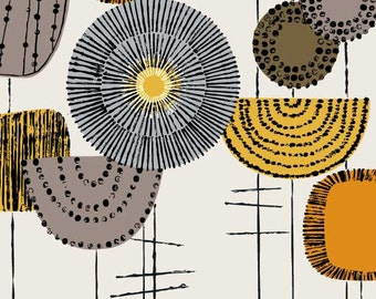 Shape Study Flowers Harvest, limited edition giclee print