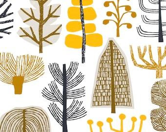 Summer Trees, giclee print