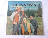 Vintage Records Bonanza TV 39 s Original Cast Vinyl Record Lp LSP 2583 RCA Victor Records 1962 Record Sale