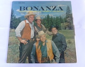 Vintage Record Bonanza TV 39 s Original Cast Vinyl Record Lp LSP 2583 RCA Victor Records 1962 Record Sale