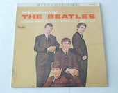 Vintage Vinyl Introducing The Beatles Vinyl Record LP VJLP 1062 Stereophonic VEE Jay Records 1964 Beatle Records
