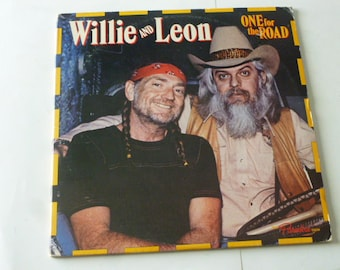 302c35d9c8f Vintage Vinyl Willie Nelson And Leon Russell One For The Road Vinyl Record  LP KC2 36064 Double Album Columbia Records 1979 Vinyl Records