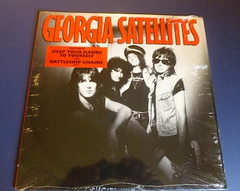 On Sale! Georgia Satellites Vinyl Records LP 60496-1 Electra Records 1986