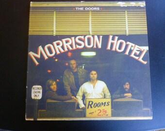 On Sale Vintage The Doors Morrison Hotel Vinyl Record LP EKS-75007 1st Pressing Red Label Electra Records 1970