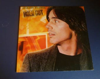 Jackson Browne Hold Out Vinyl Record LP 5E-511-B-SP Asylum Records 1980