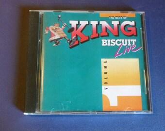 The Best Of King Biscuit Live Volume 1- CD D233005-2 Sandstone 1991