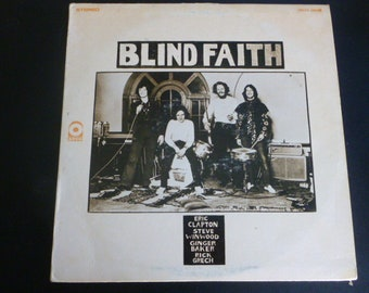 Blind Faith Vinyl Record LP SD33-304B ATCO Records 1969