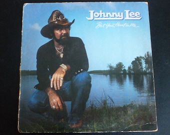 Johnny Lee Bet Your Heart On Me Vinyl Record LP 5E-541 Asylum Records 1981