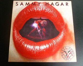 Sammy Hagar Three Lock Box Vinyl Record LP GHS 2021 Geffen Records 1982