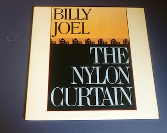 On Sale! Billy Joel The Nylon Curtain Vinyl Record LP TC 38200 Columbia Records 1982