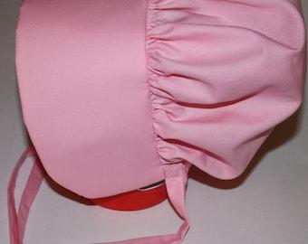 Pink Pioneer Bonnet