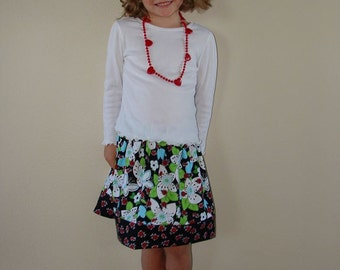 Clearance Lady Bugs Little Girls Skirt  Only have a size 3 Left